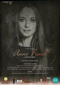 Anne Frank monodráma plakát - Múzsák Társulat