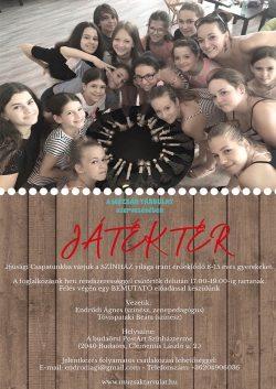 Játéktér színházi szakkör gyerekeknek - Múzsák Társulat