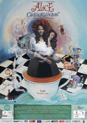 Alice csodaországban plakát - Múzsák Társulat